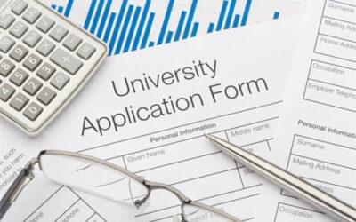 University application aide